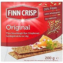 Finn Crisp Adelgaza La Cosecha De Centeno Pan Crujiente 200g
