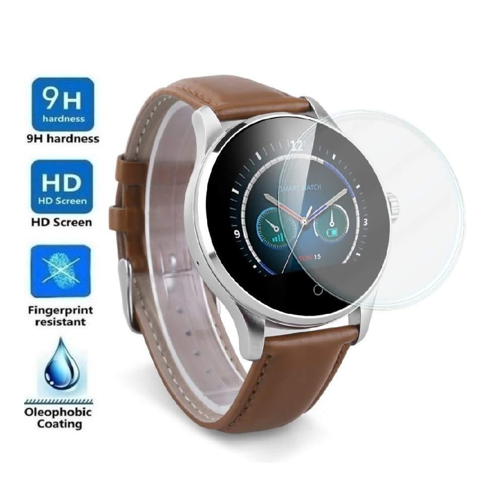 Protector de Pantalla Universal para SMARTWATCH o Reloj de 38mm, Cristal Vidrio Templado Premium 1
