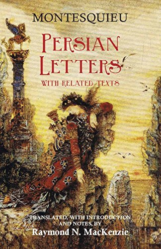 The Persian Letters (Hackett Publishing Co.) by Charles de Secondat (1999-09-15)
