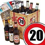 DDR Bierbox | Zahl 20 | Geschenke Mutti | Bier Geschenk Box