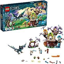 LEGO Elves - Ataque de los murciélagos al Árbol de la Estrella Élfica (41196)