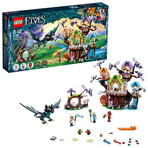 LEGO 41196 Elves Fledermaus-Angrriff auf den Elfen-Sternbaum, Mehrfarbig (Auf Den Flügeln Des Adlers Buch)