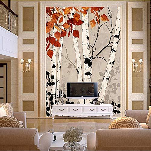 Preisvergleich Produktbild Wuyyii Benutzerdefinierte Größe 3D-Wandbild Tapeten Für Wohnzimmer,  Moderne Mode Schöne Neue Fototapeten Porch Baum Tapete-280X200CM