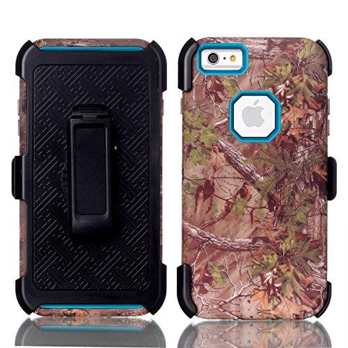 HYAIT® For APPLE IPHONE 5/SE Case[T SHUI][COLOR LINE][Holder] TPU+PC Premium Hybrid Shockproof Kickst Bumper Full-body Rugged Dual Layer Stents Cover-Dreamcatcher IPHONE 5-T SHUI-FOREST