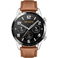 Huawei Watch GT 2 Connected Watch (GPS, 46 mm case), 1.39 inch AMOLED screen with…