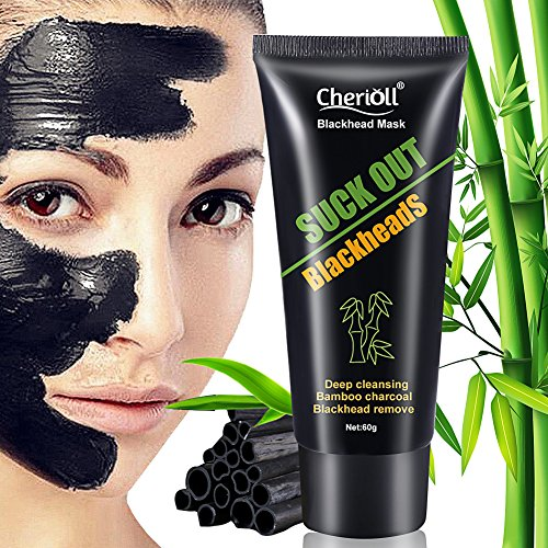 Black mask, Peel off Mask, Black Head Mask, Charcoal maske, Mitesser Gesichtsmaske,Gesichtsmaske Schwarz, BUOCEANS® Reinigungsmaske Tiefenreinigung Mitesser Entferner Pore Acne Peel Purifying Mask, 6