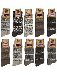 10 paires de chaussettes des garçons et des hommes avec motif 35/38 ou 39/42