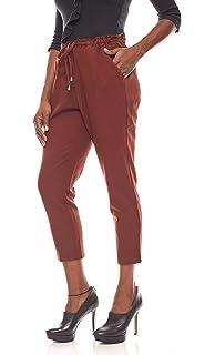 15a17bbd23d61 B.C. Best Connections weiche elastische Damen Schlupfhose Herbst-Hose  Trend-Hose Kurzgröße Ziegel-