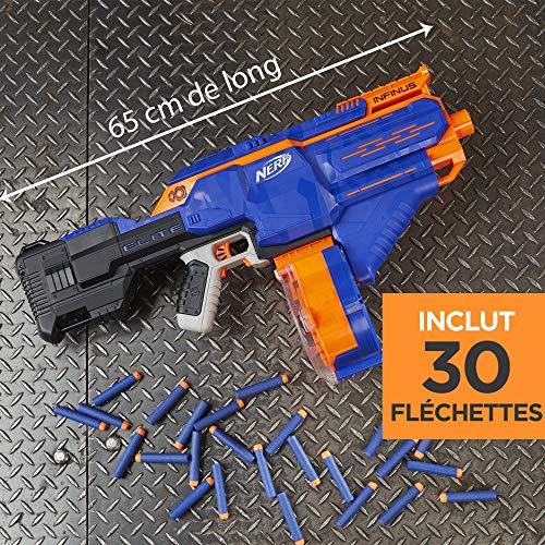 Hasbro E0438EU4 - N-Strike Elite Infinus Spielzeugblaster, mit automatischem Dart-Loader - 3