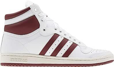 adidas Uomo Top Ten Hi Sneaker Bianco