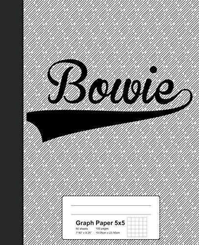 Graph Paper 5x5: BOWIE Notebook (Weezag Graph Paper 5x5 Notebook, Band 2470)