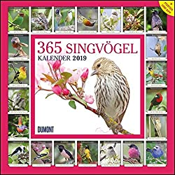 365 Singvögel 2019 Kalender – Wandkalender