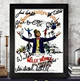 WILLY WONKA AND CHOCOLATE FACTORY Cast Autographed Signed Photo 8x10 Reprint RP PP [Gene Wilder, Peter Ostrum, Julie Cole & Others]