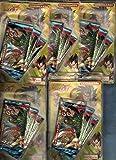 Dragonball GT Smeraldo 5 Lamincards Confezioni / 15 Bustine / 75 Card