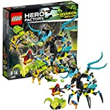 LEGO Hero Factory - 44029 - Jeu De Construction - Queen Contre Furno, Evo Et Stormer