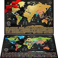 wanderlust scratch off world map parent