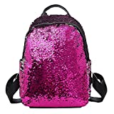 Best The Children's Place School Uniforms - Fashion Girl Sequins School Bag Backpack Satchel Student Review