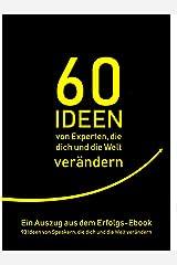 60 Ideen von Experten, die dich und die Welt verändern JP Oversized
