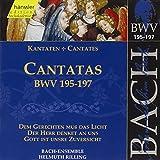 Edition Bachakademie Vol. 59 (Geistliche Kantaten BWV 195-197)