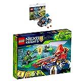 LEGO Nexo Knights 2er Set 72001 30371 Lances schwebender Cruiser + Knight's Cycle