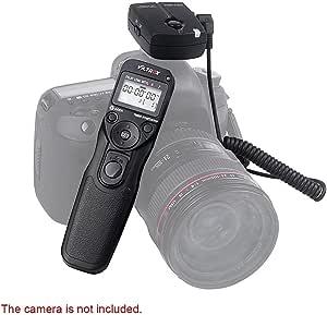 Viltrox Drahtlose Automatische Timer Fernauslöser Controller Set Zeitraffer Intervalometer Timer Für Nikon Df D7200 D7100 D5500 D7000 D90 D5300 D5200 D5100 D3300 D3200 D3100 D600 D610 Musikinstrumente