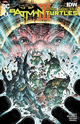Batman/Teenage Mutant Ninja Turtles III (2019-) #5 (English ...