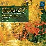 Schumann, Loeffler, Klughardt & Kahn: Romatic Trios for Oboe, Viola and Piano by Ensemble Schumann (2013-08-03)