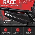 Borsa-Bici-ROSWHEEL-Borsa-Triangolare-da-Bicicletta-Telaio-Borsa-Frontal-Sacchetto-Per-CasualTrekkingMTBMountain-Biking201806L