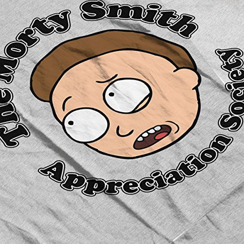 Rick And Morty The Morty Smith Appreciation Society Women's Vest Heather Grey
