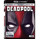 Deadpool (Uncut) [4K Ultra HD/Blu-ray] (2016) | Imported from USA | 20th Century Fox | 108 min | Action Comedy Dolby Atmos | Director: Tim Miller |Stars: Ryan Reynolds, Morena Baccarin, T.J. Miller