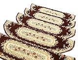 Unbekannt YXX- Europäische Treppenbelag-Auflage-Teppich-Feste Holztreppen-Kleber-klebrige Rutschfeste Teppich-Matte (Farbe : 10 Piece, größe : 24×75cm)