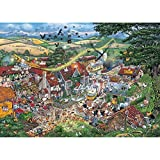 Gibsons Puzzle - I Love The Farmyard - 1,000 Piece Jigsaw by Gibsons Games
