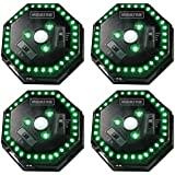 (4) MOULTRIE Motion-Activated LED Feeder Hog Lights w/ 30FT Radius | MFA-12651