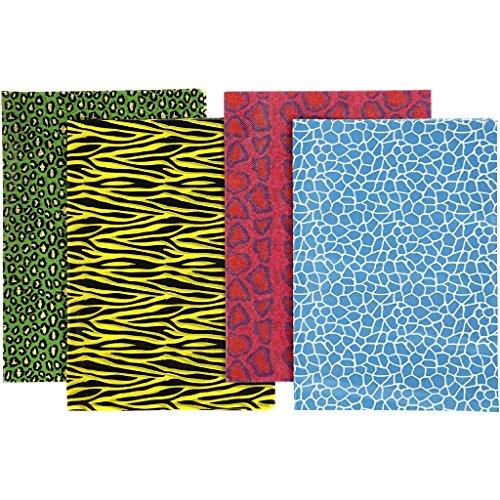 Creativ Decoupage Paper Sheet Coloured Animal Print 25 x 35 cm