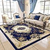 GRENSS Continental Teppichboden Wohnzimmer Sofa Tisch Matte Schlafzimmer mit Etagenbetten und Einem rechteckigen minimalistischen modernen idyllischen amerikanischen Haushalt, 01B, 03B