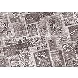 Vlies Fototapete PREMIUM PLUS Wand Foto Tapete Wand Bild Vliestapete - Cartoon Comic Freunde Pluto Mickey Mouse Kindertapete - no. 2397, Größe:254x184cm Vlies