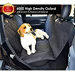 Fragralley Dog Seat Cover Unique Design & Detachable Sherpa Fleece Mat – Ultimate Pet Back Seat Covers for Cars, Trucks… 11