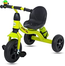 Baybee Pyroar Baby Tricycle -Trike with Water Bottle ( Green )