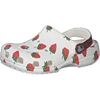 Crocs unisex child Kids' Classic Graphic | Slip on Water Shoes for Boys and Girls Clog