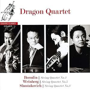 Borodin Shostakovich & Weinberg: String Quartets