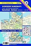 Wassersport-Wanderkarte / Kanu-und Rudersportgewässer: Wassersport-Wanderkarte / Deutschland Nordwest für Kanu- und Rudersport: Kanu-und ... Schwentine, Eider, Treene, Schlei 1:100000