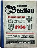 Adressbuch Landkreis Breslau (Schlesien) 1936 für Ahnenforschung - eBook im PDF-Format auf CD