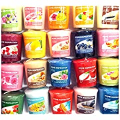 Idea Regalo - 12 x candeline originali Yankee Candle fragranze rare assortite Home Inspiration