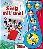 Micky Maus, Sing mit uns - Liederbuch mit Sound - Disney - Pappbilderbuch mit 6 Melodien
