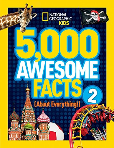5,000 Awesome Facts (About Everything!) 2 (5,000 Awesome Facts ) por National Geographic Kids