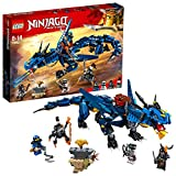 LEGO 70652 Ninjago: Masters of Spinjitzu: Stormbringer Building Set, Dragon Model, Ninja Construction Toy for Kids