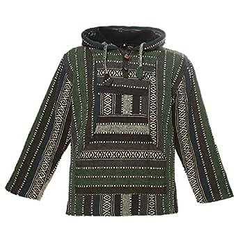 Bild nicht verfügbar. Keine Abbildung vorhanden für. Farbe  Kunst und Magie  Nepal Baja Jerga Sweatshirt Poncho ... 992231a34b