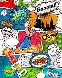 Blank Comic Book Template: Great For Drawing Your Own Comics | Empty Templates For Artists & Creators | Perfect For Kids & Adults: Volume 13 (Creativity)
