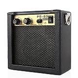 MVPOWER PG-5 5W Gitarrenverstärker Bassverstärker Mikrofoneingang Mini Combo Amp Portable