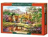 Castorland C-300365-2 - Twilight At Woodgreen Pond, 3000-teilig, Klassische Puzzle